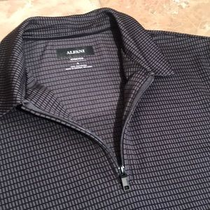 Alfani Shirts - Alfani Men's Zip Down Polo